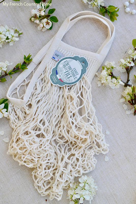 Filt string bag- MAY STYLISH FRENCH BOX