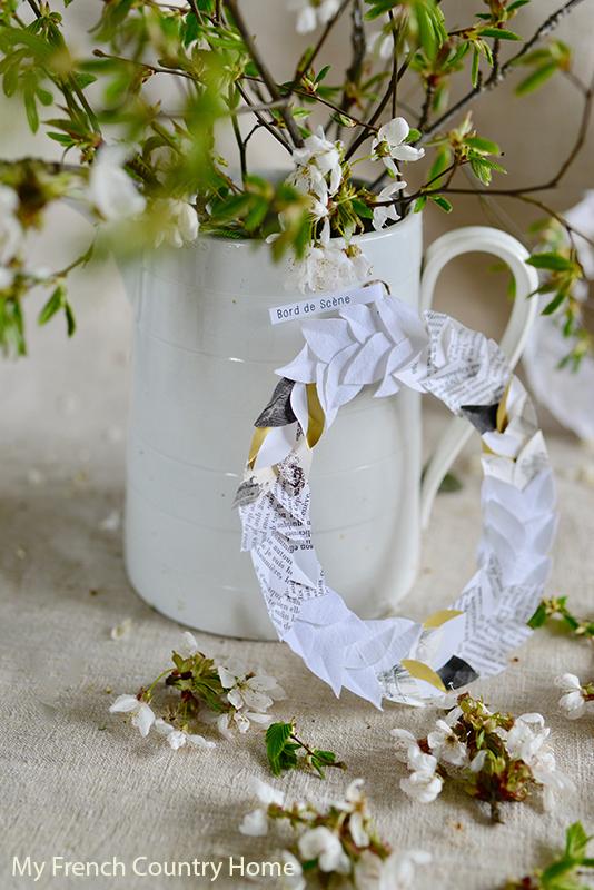 Wreath- MAY STYLISH FRENCH BOX