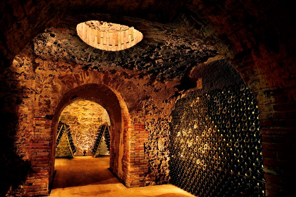 Boizel Champagne caves- our october luxury lifestyle tour