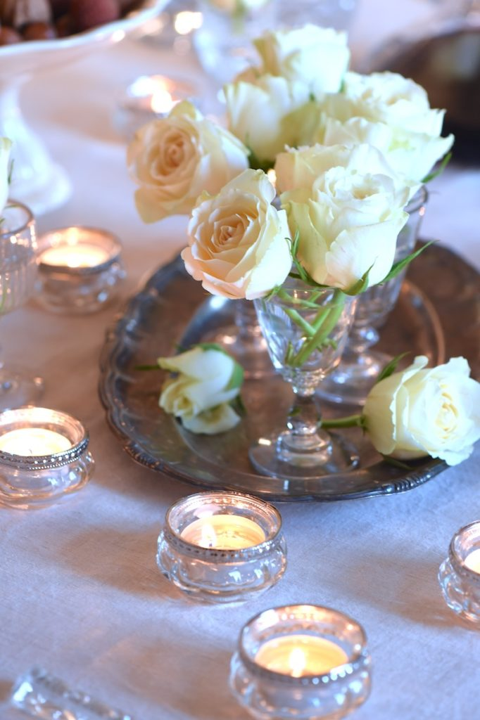 ROSES ON SILVER PLATTER GIFTS FROM FRANCE