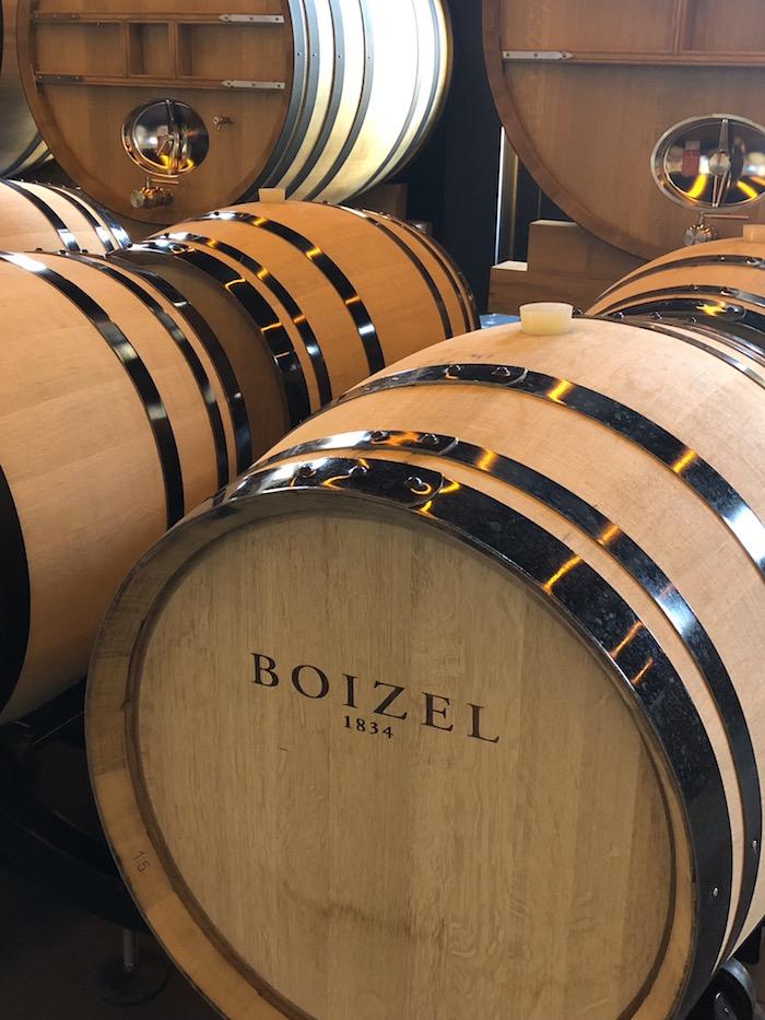 champagne barrels boizel
