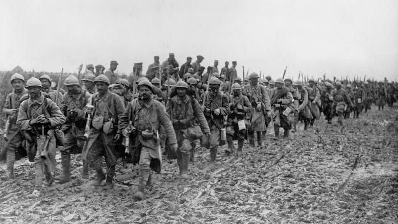 remembrance sunday, french soldiers in WW1