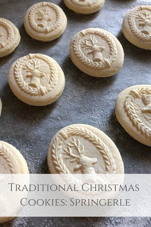 Traditional Christmas Cookies: Springerle | My French Country Home