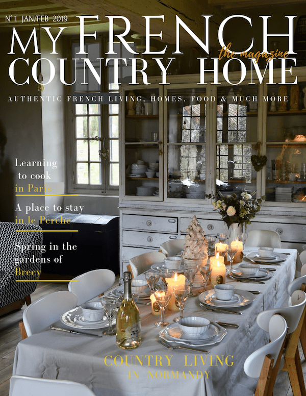 cover of digital my french country home magazine