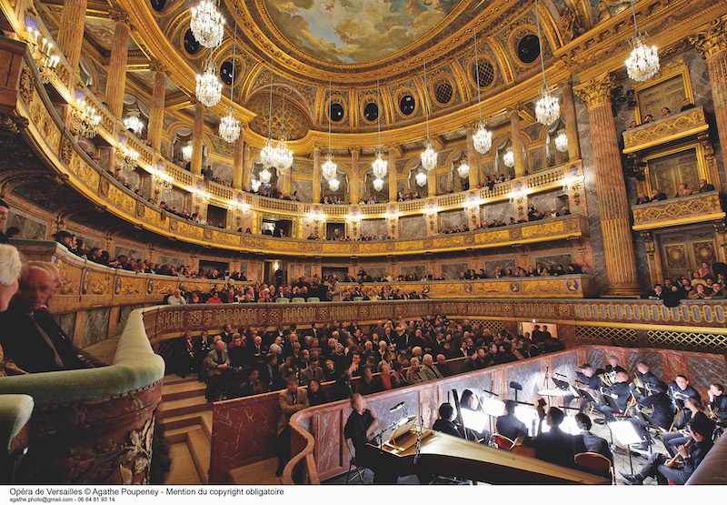 Opera hall at Versailles Palace | My French Country Home