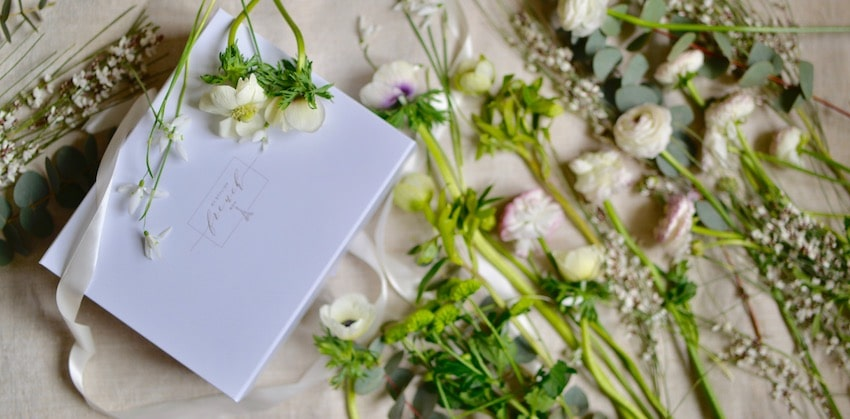My Stylish French Box with spring flowers