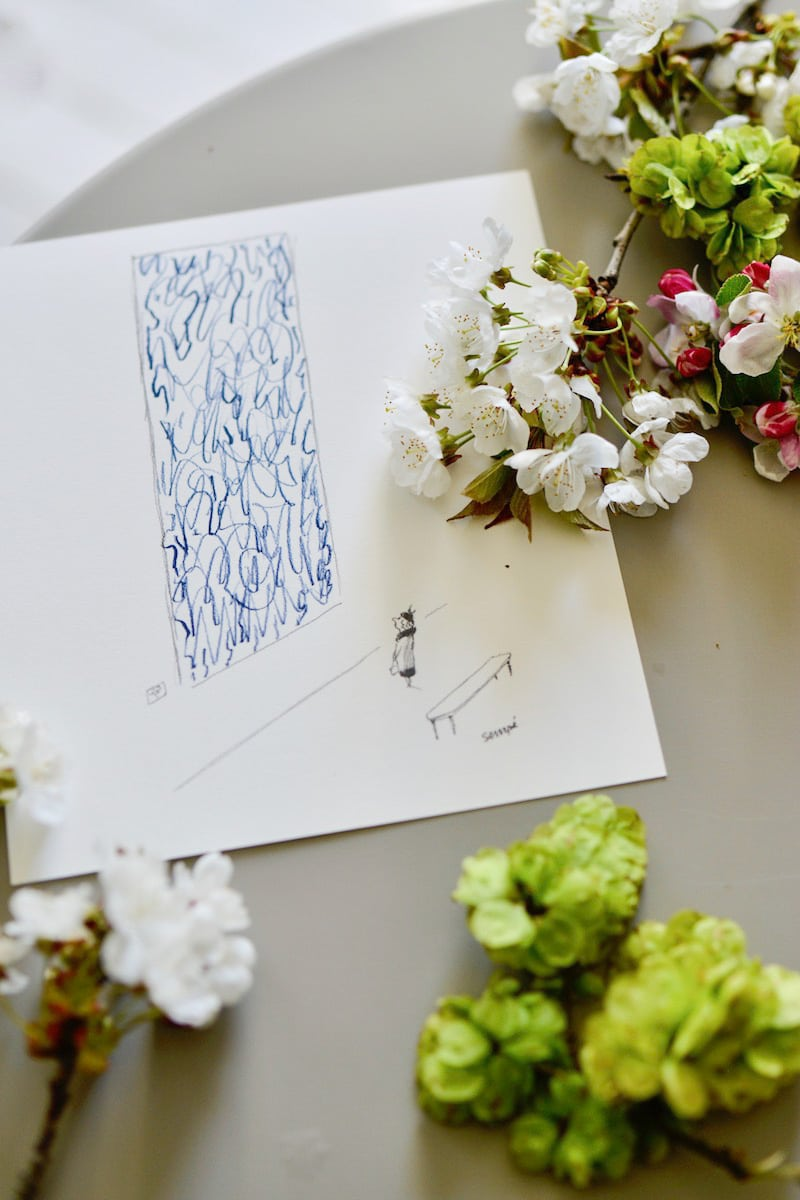blue and white box- may 2019- my stylish french box- sempe print