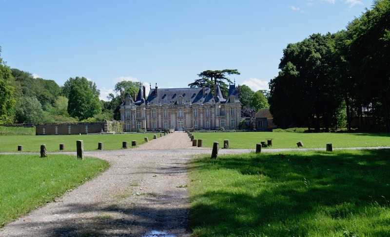 The front of Chateau Miromesnil