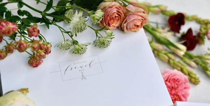 summer flowers with my stylish french box