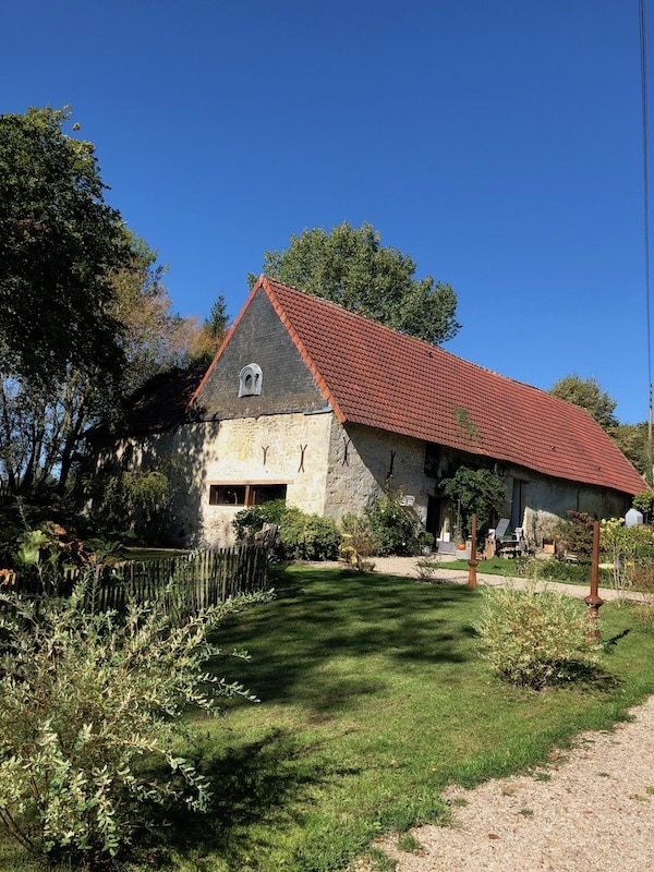 18th century farmhouse in Normandy on tour
