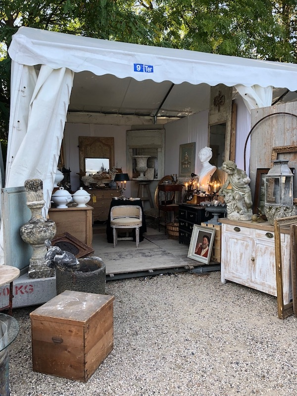 One of the Stands at the French Antique Fair at Chatou