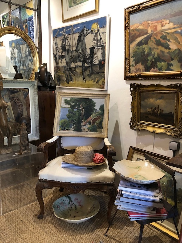 Retreat in Provence | My French Country Home | Cotignac Antiquing