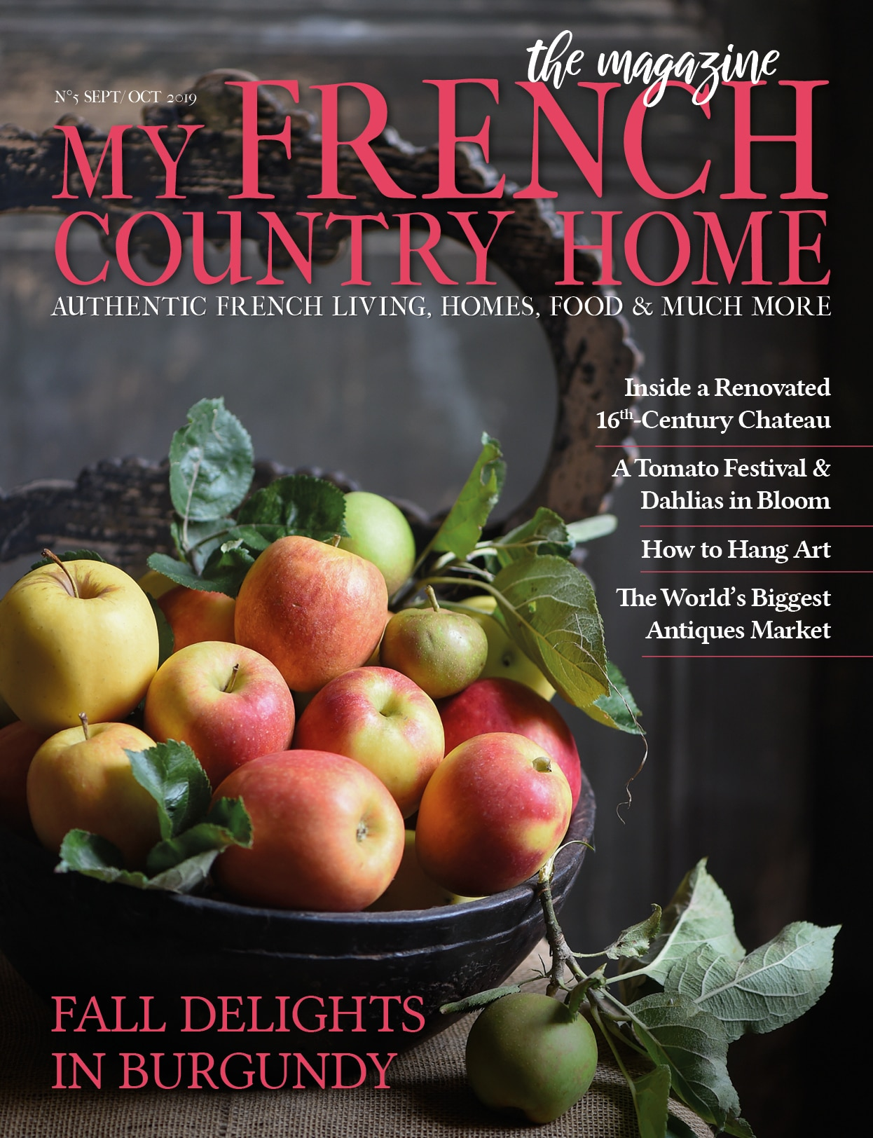 cover My French Country Home Magazine