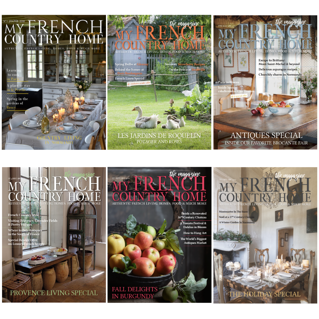 My French Country Home Magazine covers 2019