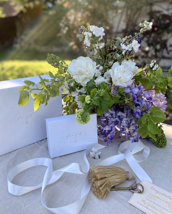 may edition of my stylish french box is all about the romance of flowers