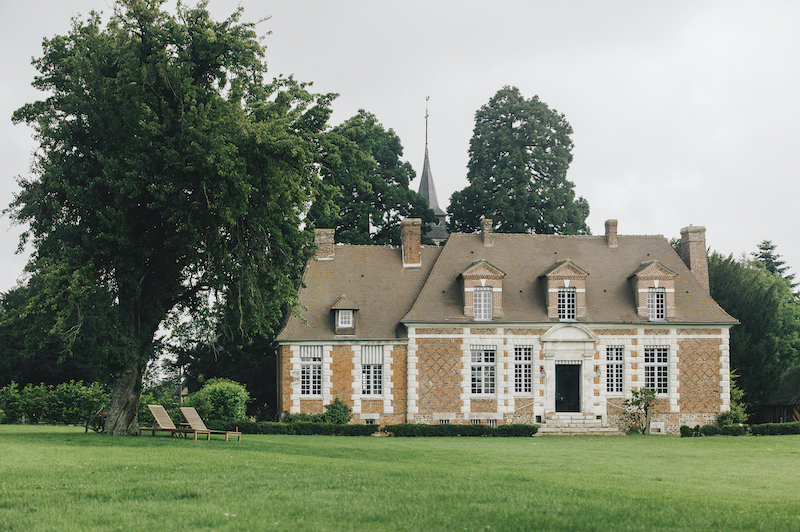 brick home in normandy