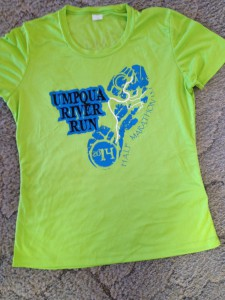 umpqua river run - t-shirt
