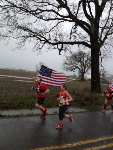 Cascade Half-Marathon - Flag