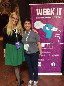 Kristi Westphaln and Sharon Tewksbury-Bloom at Werk It 2017