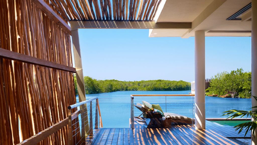 Mayakoba Private Balcony