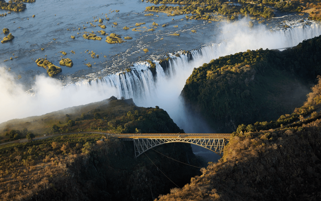 Zimbabwe | Victoria Falls and the old bridge