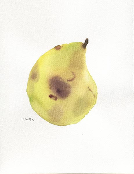 Bruised Pear 3