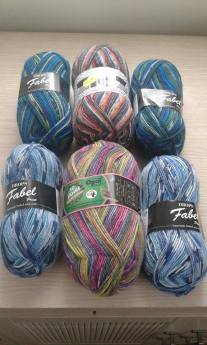 All my 4ply sock yarns