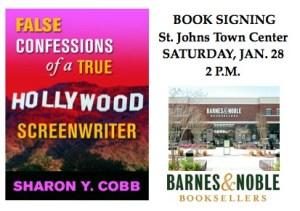 Barnes & Noble Book Signing Invitation