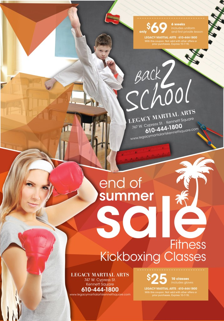 Back to School Athletic Ad