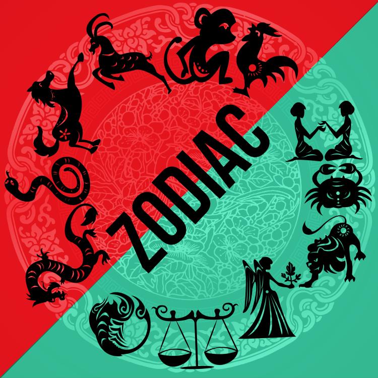 Western and Eastern Zodiac
