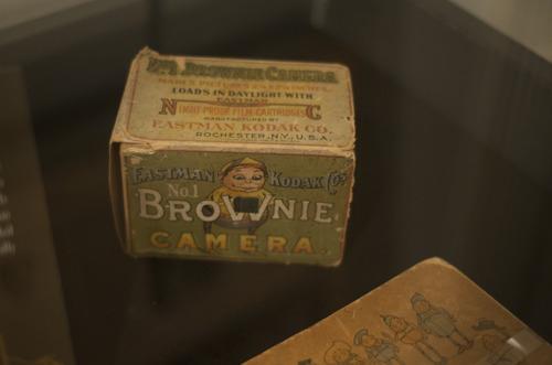 Kodak Brownie at George Eastman House
