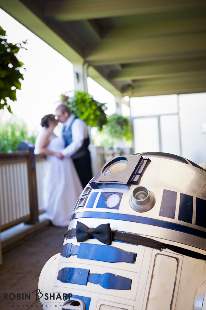 Star Wars Wedding at Rattlesnake Point Golf Course in Milton