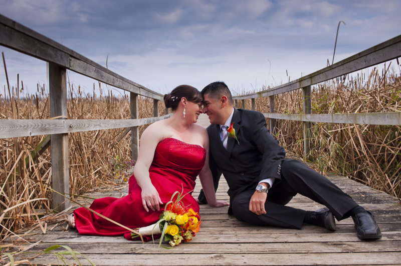Patrizia and Victor - Surprise non-traditional wedding Durham Region, Durham, Whitby, Oshawa Photographer