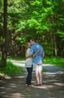 Evan & Liz Cottage Engagement Session Summer