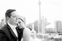 Wedding Queen Street Burroughes City Toronto Skyline