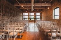 Wedding Queen Street Burroughes City Toronto Ceremony Set-Up