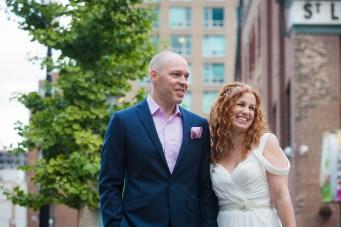 Candid - Offbeat Bride - St.Lawrence Market Wedding - Toronto Wedding Photographer