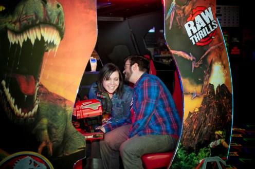 Arcade Engagement Session - Hamilton Wedding Photographer