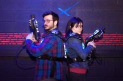 Arcade Laser Tag Engagement Session - Toronto Wedding Photographer