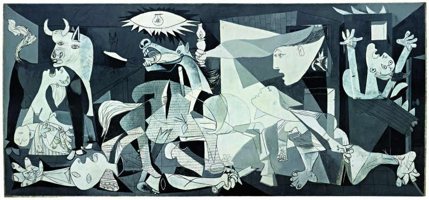 Guernica, by Picasso.