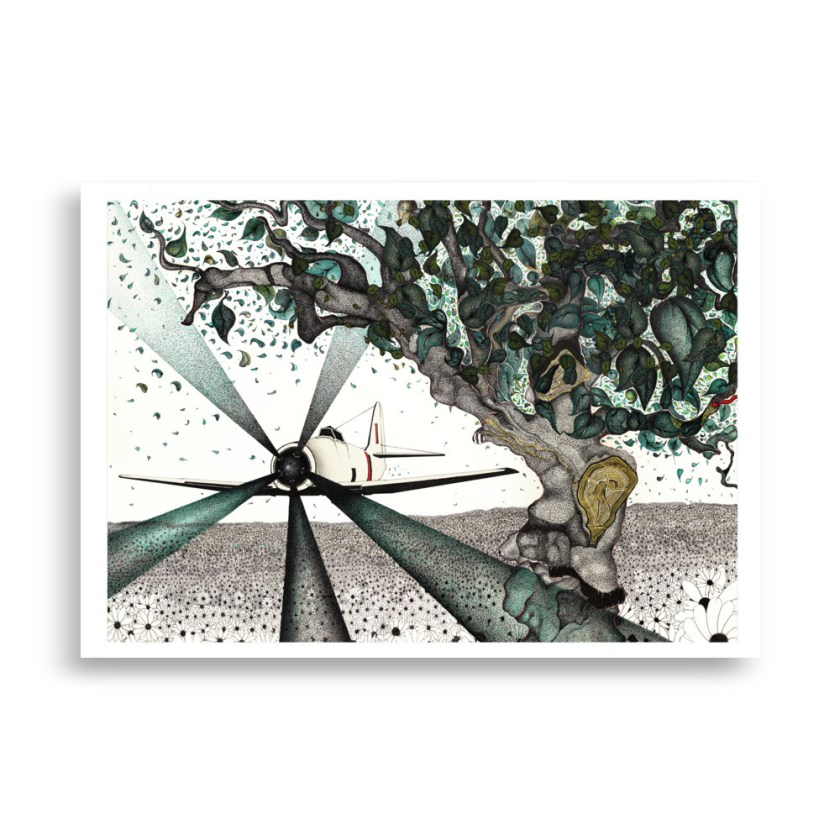 Limited Edition Print Entitled Mechanized Spring
