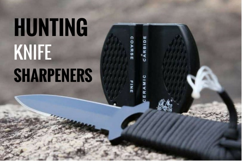best hunting knife sharpeners