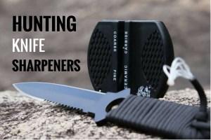 best hunting knife sharpeners
