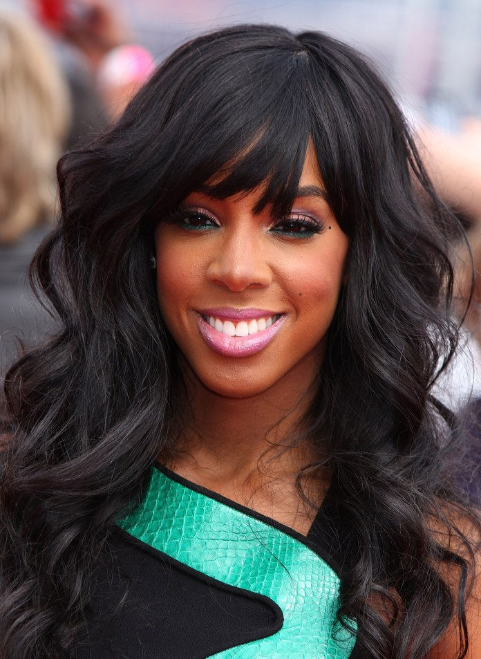 kelly rowland face hair