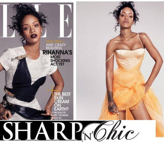 rihanna on elle magazine