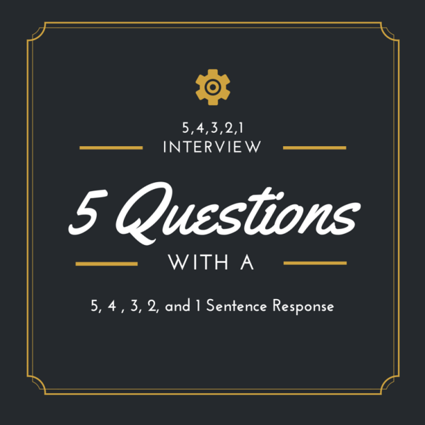 5,4,3,2,1 Interview
