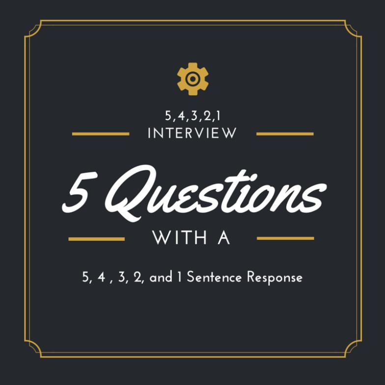 5,4,3,2,1 Interview