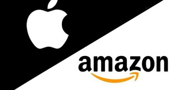 Image result for amazon and apple