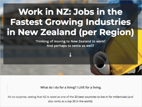work in new zealand visual asset