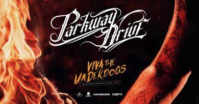 "Ankündigung: PARKWAY DRIVE auf ""Viva La Underdogs"" Tour"